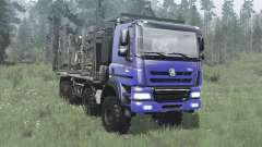 Tatra Phoenix T158 8x8 bleu pour MudRunner