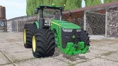 John Deere 8370R USA v4.0 für Farming Simulator 2017