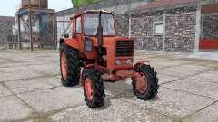 MTZ-82 Belarus, mit Kun für Farming Simulator 2017