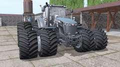 Massey Ferguson 8737 double wheels pour Farming Simulator 2017