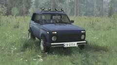 LADA Niva (21213) 2005 violet bleu pour MudRunner