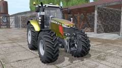 Massey Ferguson 7718 S gold design v1.1 für Farming Simulator 2017