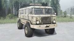 GAZ 66 Beaver v1.1 für MudRunner