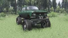 Moskwitsch 412 monster-truck für Spin Tires