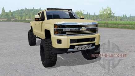 Chevrolet Silverado 2500 HD High Country 2015 für Farming Simulator 2017