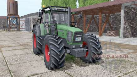 Fendt Favorit 822 forest version v3.0 pour Farming Simulator 2017