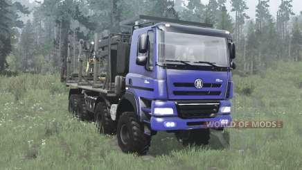 Tatra Phoenix T158 8x8 blau für MudRunner