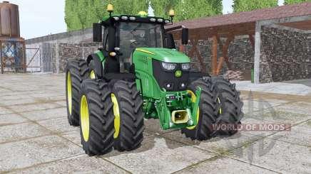 John Deere 6250R bugs fixed v1.1 für Farming Simulator 2017