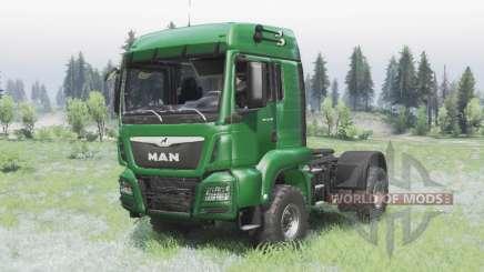 MAN TGS 18.440 4x4 green v1.3 für Spin Tires