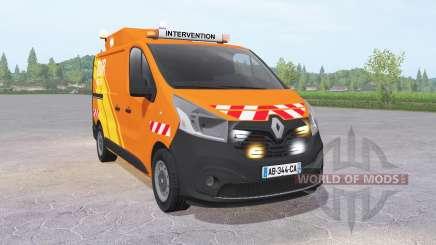 Renault Trafic Van (X82) 2014 DIR Ouest für Farming Simulator 2017