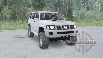 Nissan Patrol GU 5-door (Y61) 2004 pour MudRunner