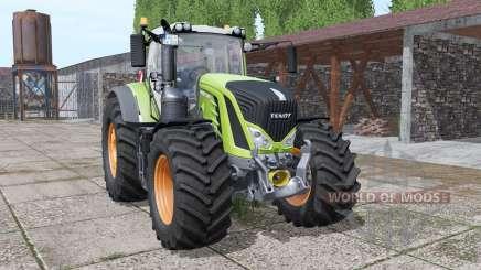 Fendt 933 Vario interactive control v2.0 pour Farming Simulator 2017