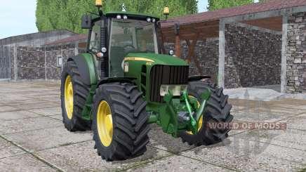 John Deere 6930 more options pour Farming Simulator 2017