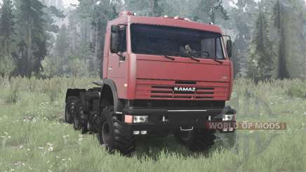 KamAZ 54115 Sammlung für MudRunner