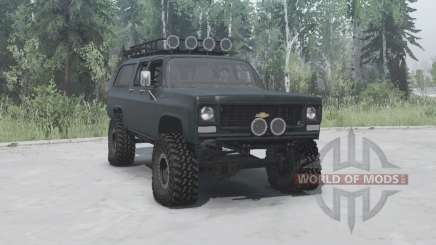 Chevrolet Suburban 1977 lifted pour MudRunner