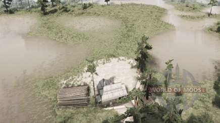 Pine Ridge Swamp für MudRunner