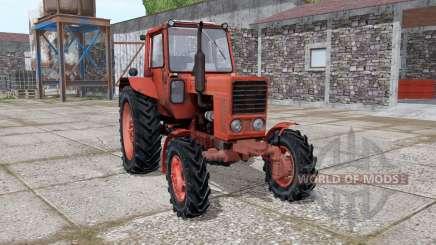 MTZ 82 Biélorussie avec Kun pour Farming Simulator 2017