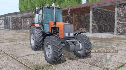 MTZ-1221 Biélorussie sélection de la couleur de v1.1 pour Farming Simulator 2017