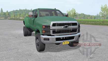 Chevrolet Silverado 4500 HD Crew Cab 2018 für Farming Simulator 2017