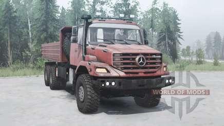 Mercedes-Benz Zetros 3643 A pour MudRunner