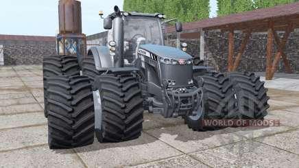 Massey Ferguson 8737 double wheels für Farming Simulator 2017