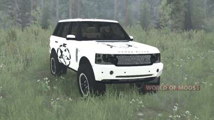 Land Rover Range Rover Supercharged (L322) 2005 pour MudRunner