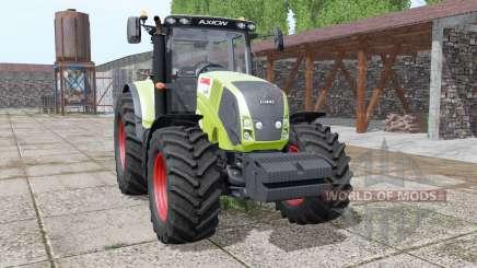 CLAAS Axion 850 animation parts pour Farming Simulator 2017