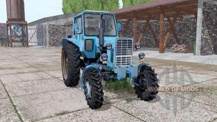 MTZ 82 Biélorussie 1985 parties animées pour Farming Simulator 2017