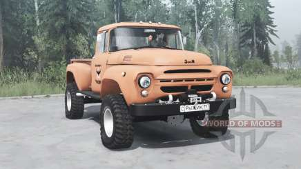 ZIL 130 Gingembre pour MudRunner