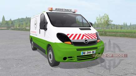 Opel Vivaro Van 2006 assistance technique v1.01 für Farming Simulator 2017