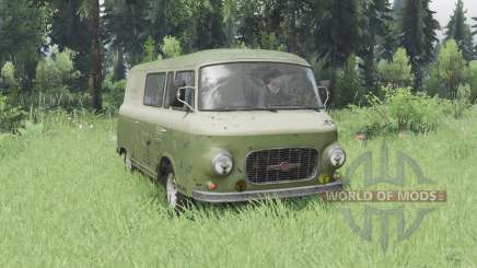 Barkas B1000 KM 1961 für Spin Tires