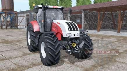 Steyr 6180 CVT new dynamic smoke pour Farming Simulator 2017