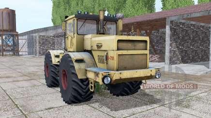 Kirovets K-701 animation Teil v1.1 für Farming Simulator 2017