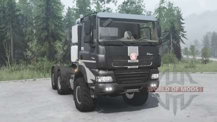 Tatra Phoenix T158-8P5 6x6 2011 pour MudRunner