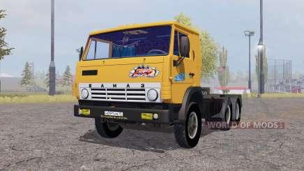 KamAZ 5410 avec remorque 1972 pour Farming Simulator 2013