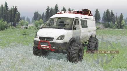 GAZ 2705 GAZelle v2.0 pour Spin Tires