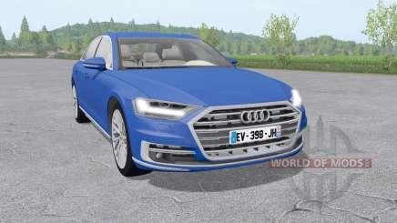 Audi A8 TFSI quattro (D5) 2018 v2.0 für Farming Simulator 2017