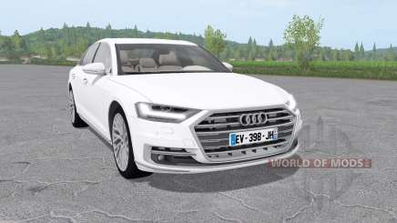 Audi A8 TFSI quattro (D5) 2018 für Farming Simulator 2017