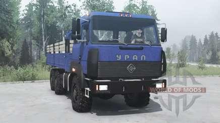 Ural 6x6 4320-3111-78 v2.0 für MudRunner