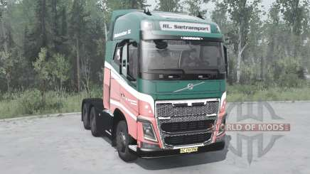 Volvo FH16 750 6x6 Globetrotter XL 2014 pour MudRunner