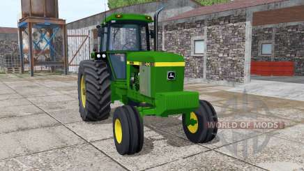 John Deere 4240 v4.0 pour Farming Simulator 2017