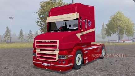 Scania T164L 580 two-axle Topline 1995 für Farming Simulator 2013