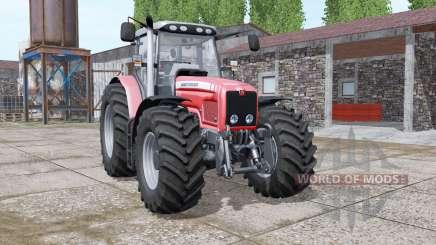 Massey Ferguson 6475 v1.1 pour Farming Simulator 2017