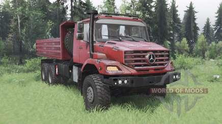 Mercedes-Benz Zetros 3643 A pour Spin Tires