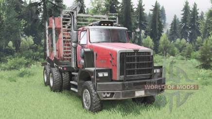 Western Star 6900XD 2008 pour Spin Tires