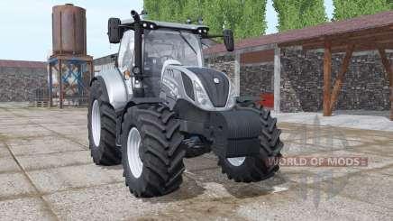 New Holland T6.125 night eagle pour Farming Simulator 2017