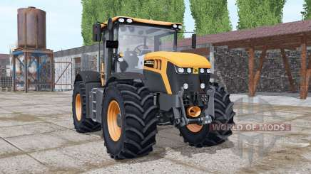 JCB Fastrac 4220 orange more options pour Farming Simulator 2017