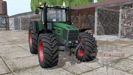 Fendt Favorit 818 wide tyre pour Farming Simulator 2017