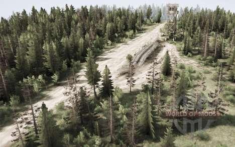 De travail dans les bois pour Spintires MudRunner