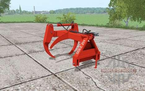 Fransgard HZ 2300 pour Farming Simulator 2017